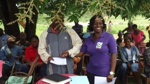 Blandine Olive Tchamou forme des éco-citoyens au Village enfants Sos Douala