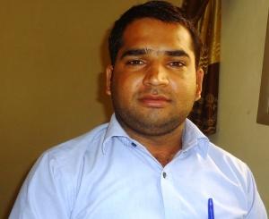Ashok Sharma, Dg de Ganesha Sarl. Photo Mathias Mouendé