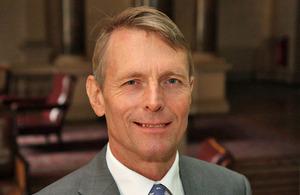 Brian Olley, Haut commissaire de Grande Bretagne au Cameroun.