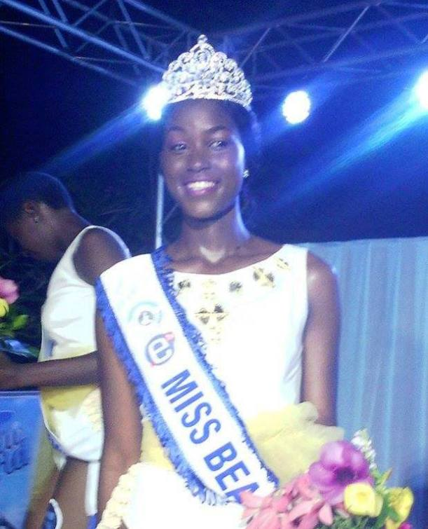 Audrey Nabila Monkam, Miss Beach 2017.