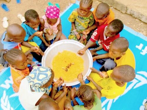 Malnutrition au Cameroun. Les enfants les plus touchés.